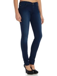 True Religion Stella low rise skinny jean in clean inky blues