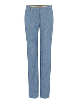 Afoso denim effect trousers