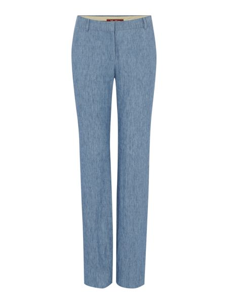 Max Mara Afoso denim effect trousers