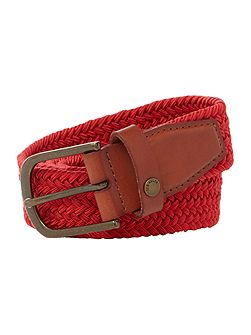 Coloured elastic belt