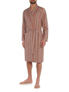 Paul Smith London Lightweight multi colour stripe robe