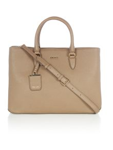 DKNY Chelsea taupe large city tote bag