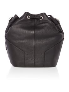 Calvin Klein Kate black bucket bag