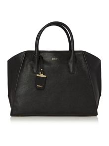 DKNY Chelsea black large satchel bag