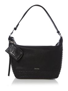 Maddie black hobo bag