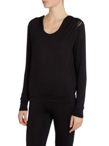 Heidi Klum Intimates Cozy mornings hooded top