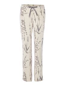 Linea Botanical illustration jersey trousers