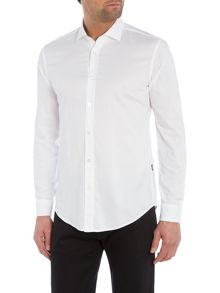 Hugo Boss Ridley Slim Fit Shark Collar Oxford Shirt