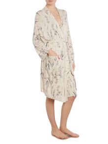 Linea Botanical illustration jersey new robe