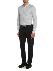 Linea Ryan Double Oxford Long Sleeve Shirt