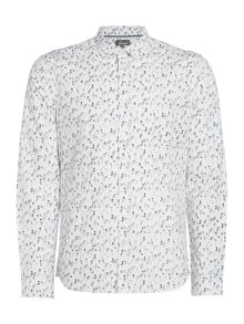 Linea Jeremy Rose Printed Shirt