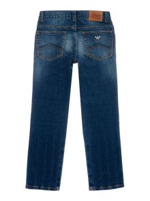 Armani Junior Boys Denim 5 Pocket Jeans