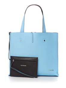 Calvin Klein Stef multi coloured reversible tote bag