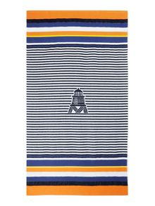 Barbour Renishaw beach towel