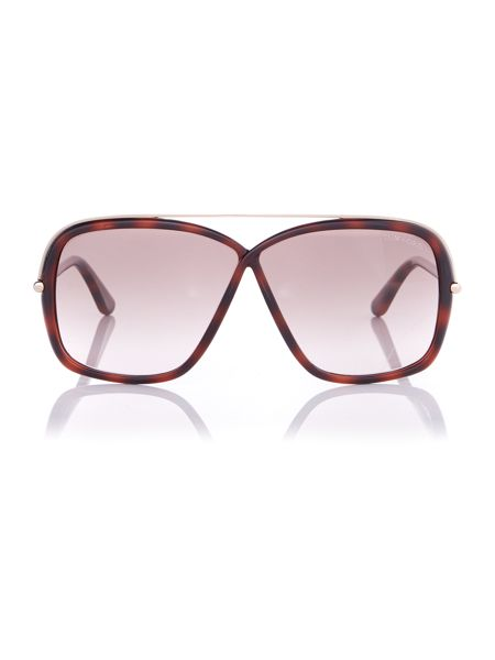 Tom Ford Sunglasses Ft0455 brenda square sunglasses