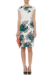 Linea Floral printed shift dress