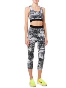 Label Lab Life textured print crop top