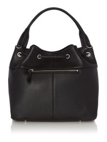 DKNY Tribeca black bucket bag