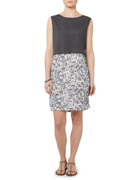 Gray & Willow Abelone Print Jersey Layer Dress