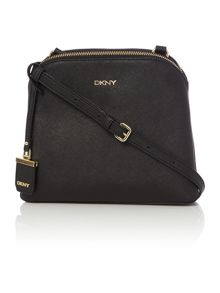 DKNY Saffiano black cross body bag
