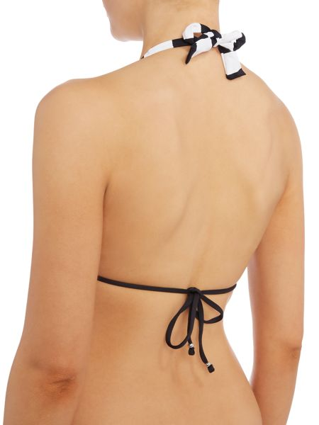 Polo Ralph Lauren Colourblock halter bikini top