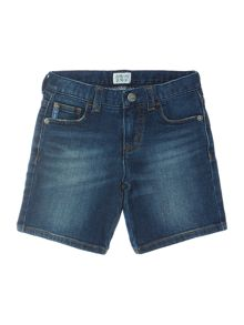 Armani Junior Boys Denim Shorts
