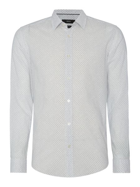 Hugo Boss Ronni Slim Fit All Over Geo Shirt