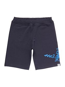 Boys Eagle Logo Jersey Shorts