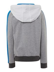 Armani Junior Boys Logo Hooded Sweatshirt with Jogging Bottoms
