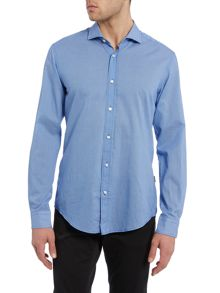 Ridley Slim Fit Textured Spot Shirt