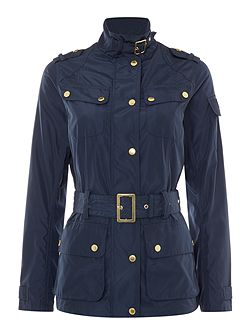 Broton belted casual jacket
