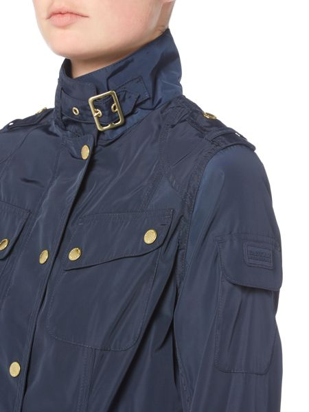 Barbour Broton belted casual jacket