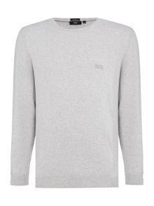 Hugo Boss Finello Regular Fit Knitted Logo Jumper