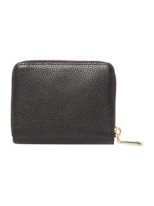 DKNY Chelsea black small zip around purse