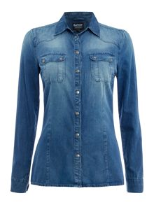 Barbour Broton denim shirt