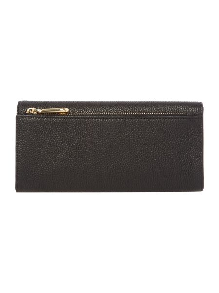 DKNY Chelsea black large flap over purse