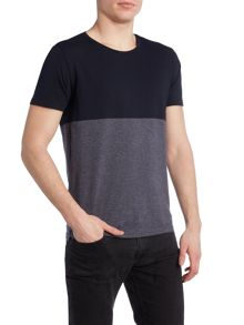 Tuomo regular fit colour block t shirt