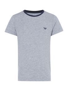Armani Junior Boys Contrast Logo T-shirt