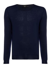 Hugo Boss Leno Slim Fit Merino Knitted Jumper