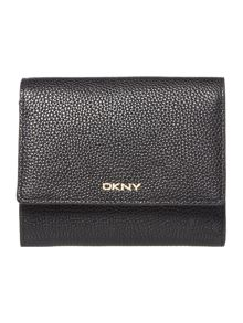 DKNY Chelsea black small flap over purse