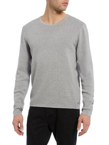 Hugo Boss Garmund Slim Fit Textured Kntted Jumper
