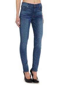 Hudson Jeans Nico midrise super skinny jean in mission control