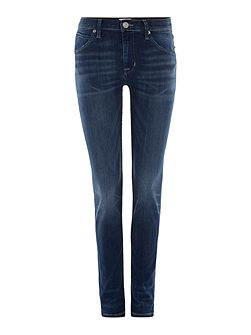 Hudson Jeans Lilly mid rise ankle skinny jean