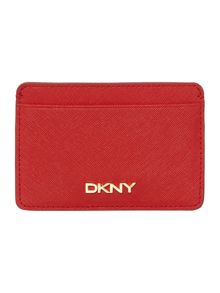 DKNY Saffiano red card holder
