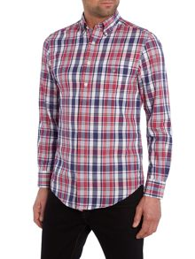 Gant Madras Long Sleeve Shirt