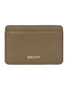 DKNY Chelsea taupe card holder