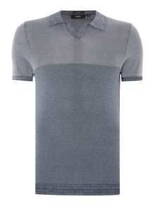 Hugo Boss Gan Slim Fit Textured Knitted Polo