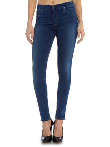 Hudson Jeans Lilly mid rise skinny jean 29 in counter attack