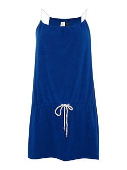 Terry rope dress cover up