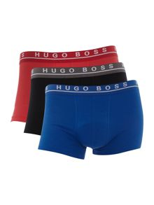 Hugo Boss 3 pack solid trunk set